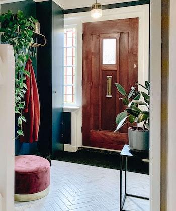 furniture plant room indoors flooring flower blossom interior design Hal makeover
