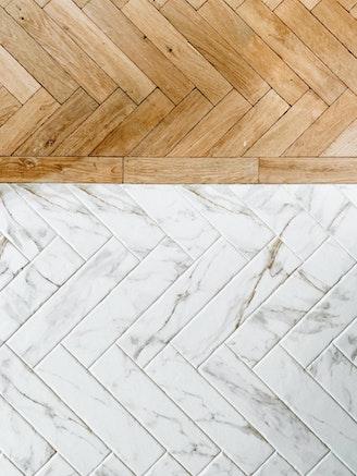 [] visgraat hout parket tegels marmer