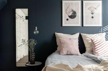 slaapkamer hague blue desenio