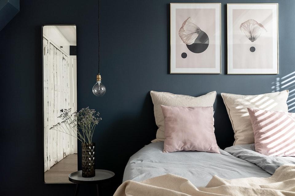 [] slaapkamer hague blue desenio