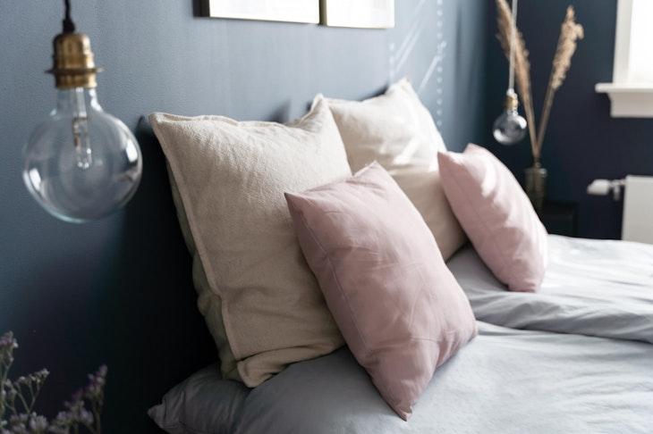 [] slaapkamer hague blue gloeilamp