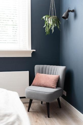 [] slaapkamer hague blue hangplant wandlamp