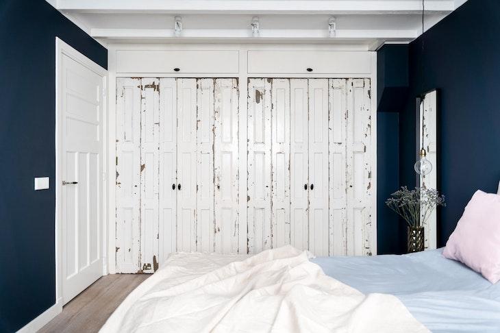 [] slaapkamer hague blue inbouwkast oude deuren