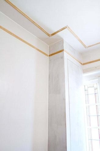 Geef Je Plafond Of Muur Klasse Met Zelfgemaakte Sierlijsten Amber Loves Design