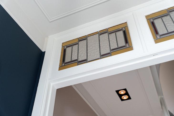sierlijsten plafond inbouwpots diy