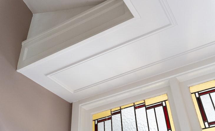 [] sierlijsten plafond diy glas-in-lood