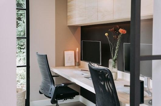 kantoor kast ikea thuiswerkplek bureau ivar